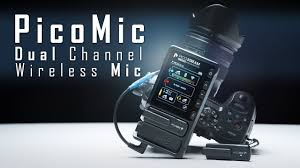 PicoMic - 2 Microphones 1 Receiver 2.4GHz <b>Wireless Microphone</b> ...