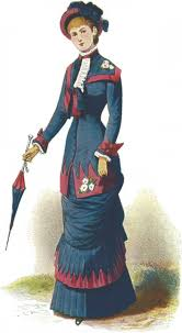 womens fashions of the victorian era from hoop skirts to bustles  victorian costume   s fashion plate