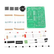US$10.52 % <b>3pcs DIY</b> 6 <b>Digital</b> LED <b>Electronic DIY</b> Clock Kit ...