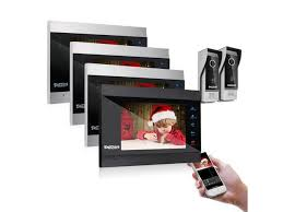 <b>TMEZON</b> Wireless <b>Video</b> Door Phone Doorbell Intercom System, 7 ...