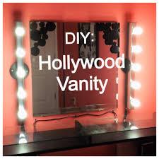 diy saturday hollywood vanity youtube best lighting for makeup vanity
