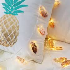 <b>LED</b> Feather Lamp Room Decoration String Light Romantic ...