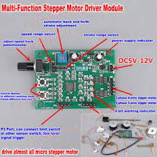 <b>DC 5V-12V 6V 2-phase</b>/4-phase Micro Stepper Motor Driver Speed ...