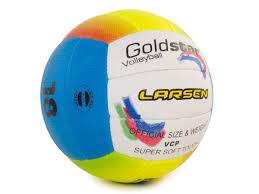 <b>Мяч</b> волейбольный пляжный <b>Larsen Goldstar</b> | СпортТриал ...