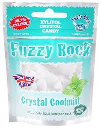 <b>Кристаллы ксилитола Fuzzy</b> Rock с мятой — купить по выгодной ...
