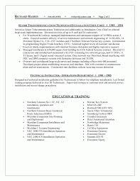 telecommunications resume example telecom resume examples