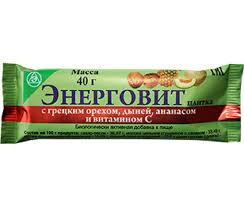 Энерговит с <b>грецким орехом</b>, дыней, <b>ананасом</b> и витамином С ...