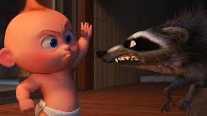 Incredibles 2 Fight Scene in Full: Jack-Jack vs. <b>Raccoon</b> (Exclusive ...