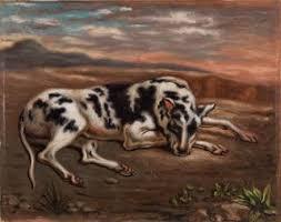 Barnes Collection Online — Giorgio de Chirico: Dog in <b>Landscape</b> ...