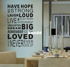 have hope sticker 0878 home decor quotes office decoration mural wall quote saying free shipping amazing wall quotes office