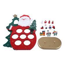 household dining table set christmas snowman knife: new d wooden snowman santa claus christmas ornament d party xmas diy table decoration assembling