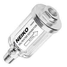 """Neiko 30252A <b>Water</b> and <b>Oil Separator</b> for Air Line, 1/4"""" NPT Inlet ..."""