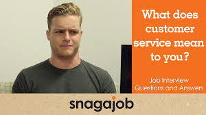 job interview questions and answers part 16 what does customer job interview questions and answers part 16 what does customer service mean to you