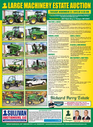sullivan auctioneersupcoming events no reserve machinery directions from palmyra mo take hwy 168 west one mile to state hwy c turn south or left on state hwy c for 4 5 miles to the farm on the left or