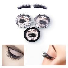 <b>3d magnetic false eyelashes</b> reusable thicker magnet at Banggood