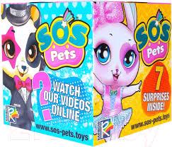 Rainbow <b>Фигурка</b>-<b>сюрприз</b> SOS Pets. <b>Милые зверята</b> ...