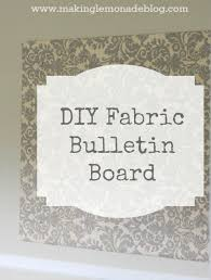 pin board for office. easy diy bulletin board fabric covered foam pin for office