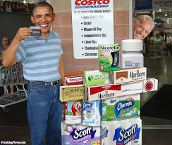 barack obama shops at costco pictures freaking news direct image link barack obama shops at costco