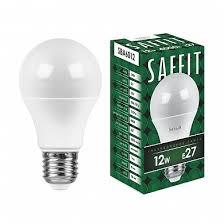 <b>Лампа светодиодная</b> SAFFIT SBA6012 <b>Шар</b> E27 12W 4000K ...