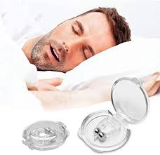 Buy QONETIC <b>Silicone</b> Magnetic <b>Anti Snore Nose</b> Clip Sleeping Aid ...