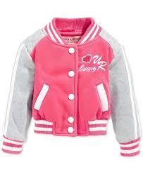 <b>Urban Republic</b> Girls' or Little Girls' Varsity <b>Jacket</b> | Детское пальто ...