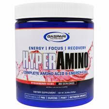 Gaspari Nutrition, <b>HYPERAMINO</b>, <b>Complete Amino Acid</b> & Energy Fuel