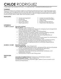 create my resume resume examples executive assistant
