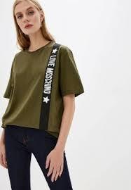 Купить женские <b>футболки</b> премиум-класса <b>Love Moschino</b> (Лав ...
