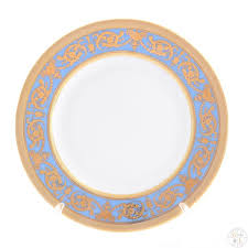 Falkenporzellan - Imperial <b>Blue</b> Gold <b>набор тарелок</b> 17см ...