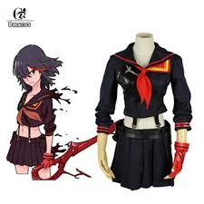 ROLECOS <b>Customizable Kill La</b> Kill <b>Ryuko</b> Matoi Cosplay Costume ...