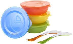 Munchkin <b>Love</b>-A-<b>Bowls</b>, Red/Yellow/Green/Blue: Amazon.ca: Baby