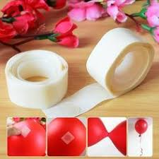 200Pcs /lot <b>Removable Balloon Glue</b> Party <b>Wedding</b> Birthday ...