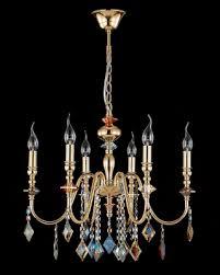 Подвесная люстра <b>Crystal Lux MERCEDES</b> SP6 GOLD/COLOR ...