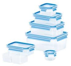 <b>EMSA Набор контейнеров</b> CLIP & CLOSE из 7 предметов 515562 ...