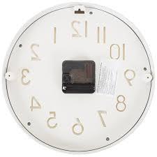 "<b>Часы настенные</b> ""<b>Белые</b> цифры"" диаметр 25 см в Москве ..."
