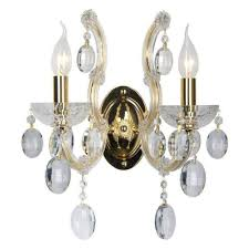 <b>Бра Crystal Lux Hollywood</b> AP2 Gold. — купить в интернет ...