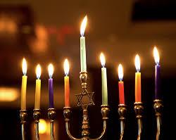Image result for Chanukah menorah  lights