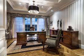 gray stripes home office traditional amazing ideas with gray window treatment gray stripes amazing gray office furniture 5
