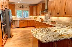 Honey Maple Kitchen Cabinets Amazing Kitchen Design With Beautiful Shenandoah Cabinets