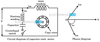 motor starting capacitor capacitor guide readingrat net 240V Motor with Thermal Protection 240v Wiring Diagram Motor Starters motor starting capacitor wiring diagram wirdig, wiring diagram