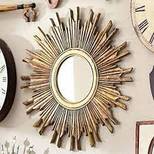 mirror wall decor circle panel:  framed art middot dimensional wall art middot mirrors