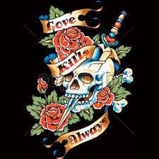 <b>Love Kills</b> Always <b>T Shirt</b>   BoardwalkTees.com
