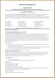 branch manager resume worker resume 6 branch manager resume