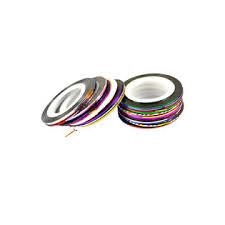 Bestselling <b>30Pcs</b> Mixed Colors Rolls Striping Tape Line <b>Nail Art</b> ...