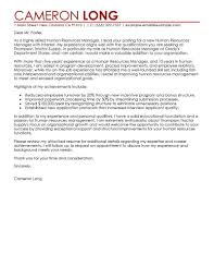 cover letter for hr manager template cover letter for hr manager