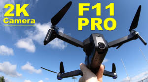 The very popular <b>SJRC F11 PRO</b> - Low Cost, Long Flight Time ...