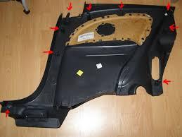 Полная разборка внутренней <b>обшивки</b> кузова Corsa <b>3D</b> — Opel ...