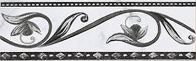 <b>Керамический бордюр Ceramica Classic</b> Argos nero 8х25 см ...