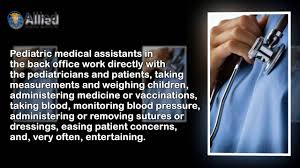 what is a pediatric medical assistant online medical assistant what is a pediatric medical assistant online medical assistant program com