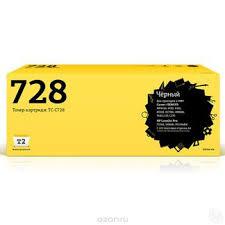 Купить T2 TC-C728 <b>картридж</b> для Canon i-SENSYS MF4410, HP ...